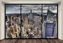 New York, sleepless (window) - fototapeta FXL0722