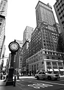 New York clock - fototapeta FM0036