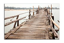 Obraz Old Wooden Bridge zs24764