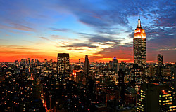 Tapeta Empire State Building NYC 29258 - samolepiaca