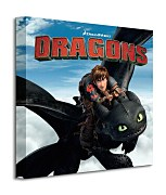Dragons (Toothless and Hiccup) - Obraz  WDC95488