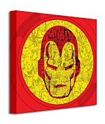 Marvel (Iron Man Helmet Collage) - Obraz WDC95435