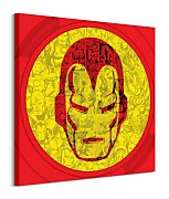 Marvel (Iron Man Helmet Collage) - Obraz WDC98150