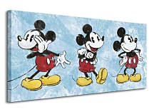 Mickey Mouse (Squeaky Chic Triptych) - Obraz WDC93040