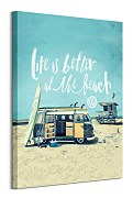 VW Life is Better at the Beach - obraz  WDC100343
