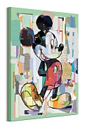Obraz do jaslí Mickey Mouse Office Decoupage WDC100468