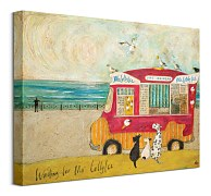 Waiting For Mr Lollyice - obraz sam Toft WDC92779