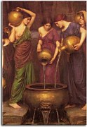 Obraz John William Waterhouse - The Danaides zs10403