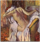 Obraz Degas - After the Bath, Woman Drying Herself zs16633