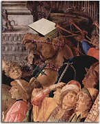 Reprodukcie Botticelli - The Adoration of the Kings zs17305