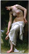 After the Bath zs17320 - William-Adolphe Bouguereau Obraz