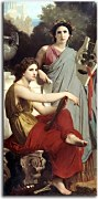 William-Adolphe Bouguereau - Art and Literature zs17323 - obraz