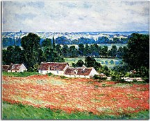 Poppy Field at Giverny Obraz Monet  zs17724