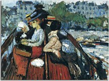 Obraz Picasso - Crossind Seine on the upper deck zs17868