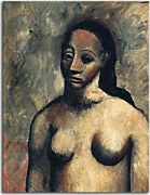 Obrazy Pablo Picasso Bust of nude woman zs17907