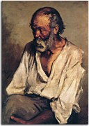 Pablo Picasso - The old fisherman Obraz zs17951