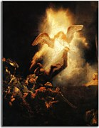 Reprodukcia Rembrandt - The Resurrection of Christ zs18032