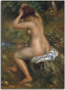 Reprodukcie Auguste Renoir - Bather is Styling zs18052
